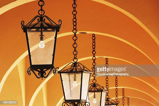 Lustre luminaire stuc Arch