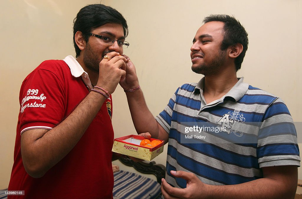 Chandigarhresident and IITDelhi graduate Prince Dhawan who secured the third rank in the UPSC exam congratualted by his roomate in New Delhi