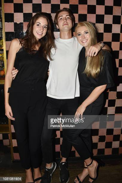 Chandler Darden and Lauren Weller attend the Nicole Miller Spring 2019 After Party at Acme on September 6 2018 in New York City