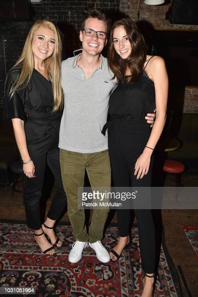 Chandler Darden Paul Salvado and Lauren Weller attend the Nicole Miller Spring 2019 After Party at Acme on September 6 2018 in New York City