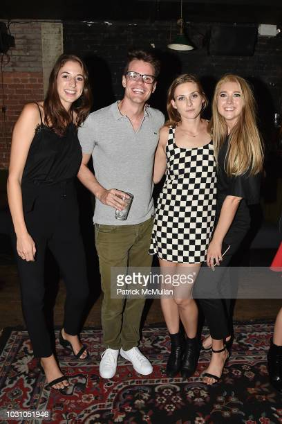 Chandler Darden Paul Salvado Sydney Curley and Lauren Weller attend the Nicole Miller Spring 2019 After Party at Acme on September 6 2018 in New York...