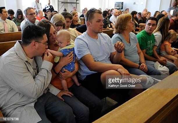 GRAFNER_KSO_8_12_08187 Chandler Grafner's family gathers in the courtroom and listen just before the guilty verdict is read Kathryn Scott Osler The...