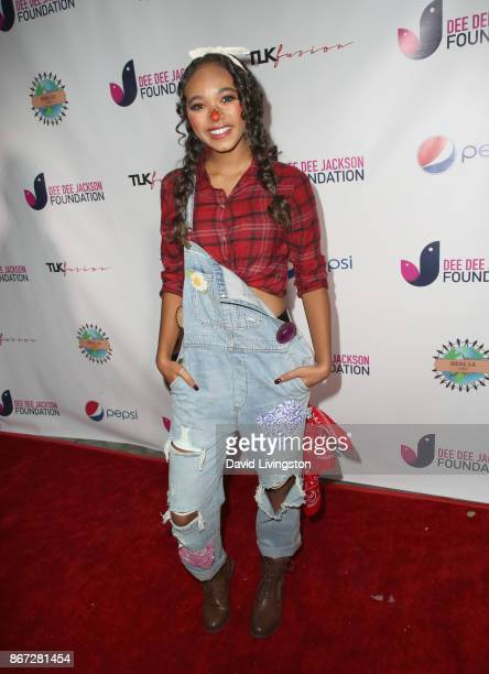 Chandler Kinney at Prince Jackson's Heal LA and TLK Fusion Present the 2nd Annual Costume for a Cause at Jackson Family Home on October 27 2017 in...