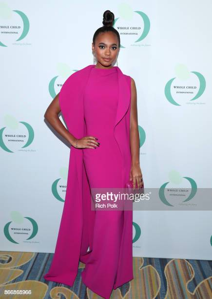 Chandler Kinney at the Whole Child International's Inaugural Gala in Los Angeles hosted by The Earl and Countess Spencer at Regent Beverly Wilshire...