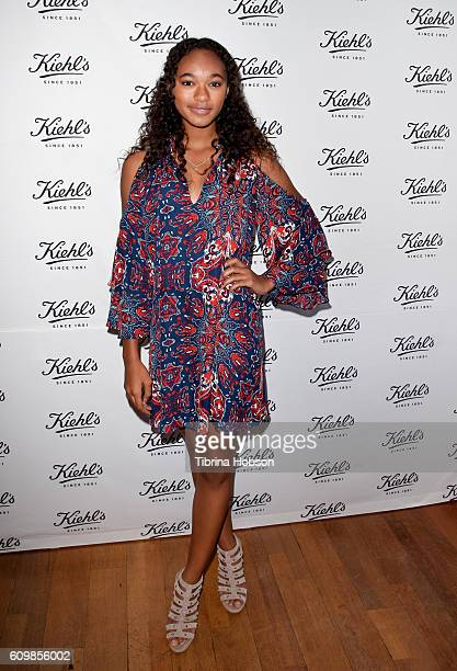Chandler Kinney attends Kiehl's LifeRide for Ovarian Cancer Research Event at Kiehl's Since 1851 on September 22 2016 in Santa Monica California