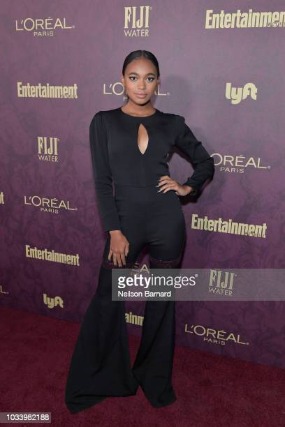 Chandler Kinney attends the 2018 PreEmmy Party hosted by Entertainment Weekly and L'Oreal Paris at Sunset Tower on September 15 2018 in Los Angeles...