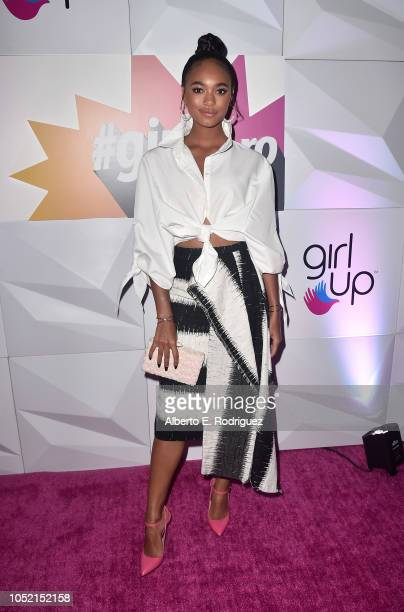 Chandler Kinney attends the #girlhero Award Luncheon at SLS Hotel on October 14 2018 in Beverly Hills California