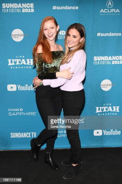 Chandler Lovelle and Kate Krieger attend the Indie Episodic Program 2 during the 2019 Sundance Film Festival at Prospector Square Theatre on January...