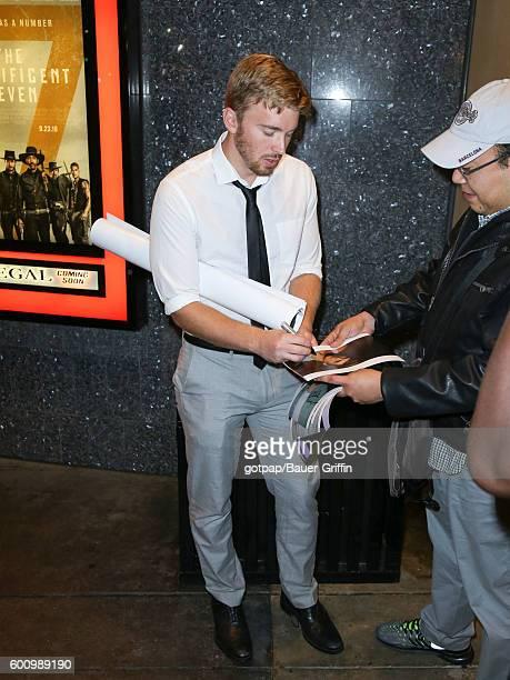 Chandler Massey is seen on September 08 2016 in Los Angeles California