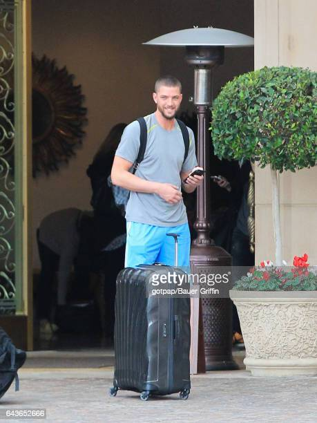 Chandler Parsons is seen on February 21 2017 in Los Angeles California