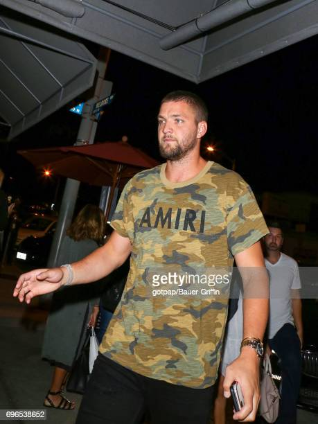 Chandler Parsons is seen on June 15 2017 in Los Angeles California