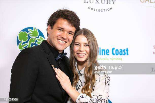 Chandler Powell and Bindi Irwin attend the Steve Irwin Gala Dinner at SLS Hotel on May 04 2019 in Beverly Hills California