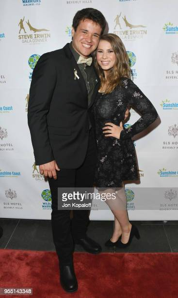 Chandler Powell and Bindi Irwin attend the Steve Irwin Gala Dinner 2018 at SLS Hotel on May 5, 2018 in Beverly Hills, California.