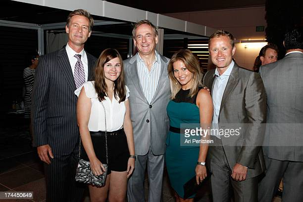 Chandler Root, Stacey Williams, Steve Maguire, Actress Candace Cameron-Bure and Valeri Bure attend Los Angeles Confidential Magazine Celebrates With...