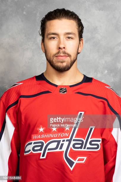 Chandler Stephenson of the Washington Capitals poses for his official headshot for the 20182019 season on September 13 2018 at MedStar Capitals...