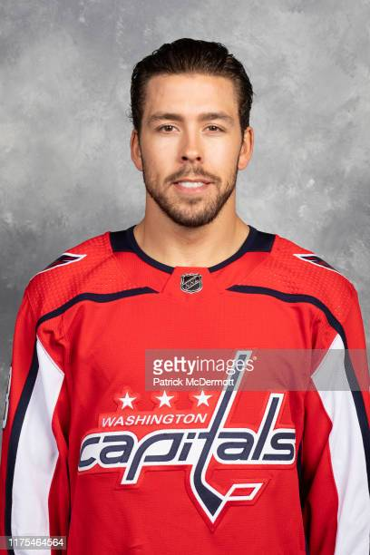 Chandler Stephenson of the Washington Capitals poses for his official headshot for the 20192020 season on September 12 2019 at MedStar Capitals...