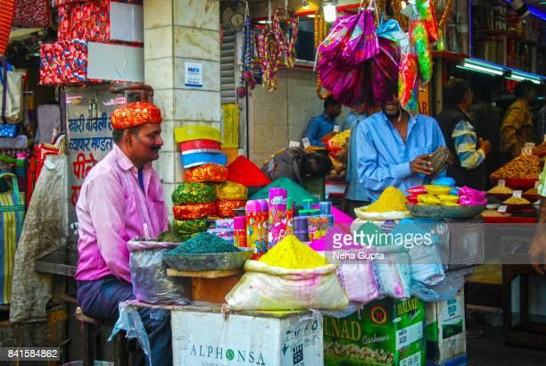 Chandni Chowk Holi Market