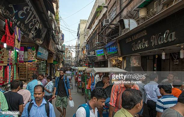 chandni chowk - old delhi stock pictures, royalty-free photos & images