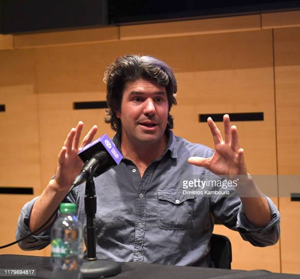 C Chandor attends 57th New York Film Festival NYFF Live WGA Talk at Elinor Bunin Munroe Film Center on October 07 2019 in New York City