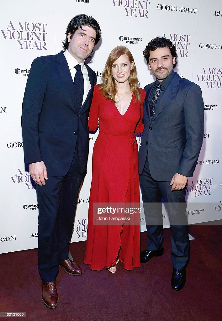 """""""A Most Violent Year"""" New York Premiere"""