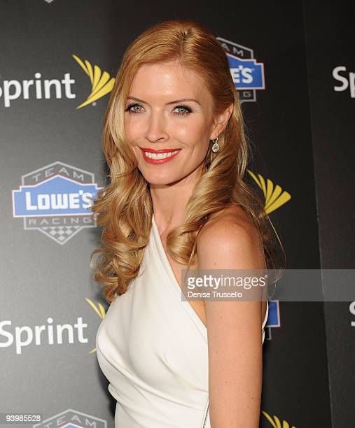 Chandra Johnson attends the NASCAR SPRINT Cup party at Lavo at the Palazzo on December 4 2009 in Las Vegas Nevada