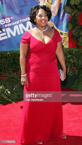 Chandra Wilson during 58th Annual Primetime Emmy Awards Arrivals at Shrine Auditorium in Los Angeles California United States