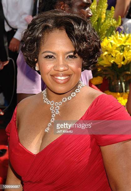 Chandra Wilson during 58th Annual Primetime Emmy Awards Red Carpet at The Shrine Auditorium in Los Angeles California United States