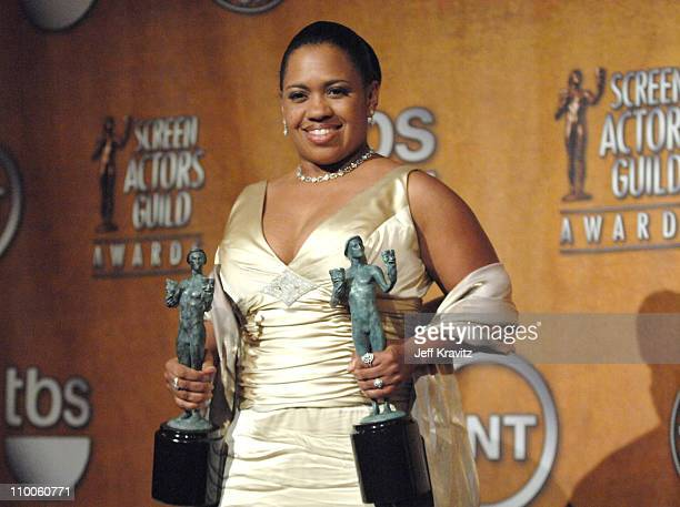 Chandra Wilson of Grey's Anatomy winner Outstanding Performance by a Female Actor in a Drama Series and Outstanding Performance by an Ensemble in a...