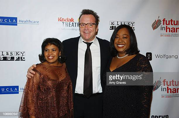 Chandra Wilson Tom Arnold and Shonda Rhimes during Future In Hand Benefit for UCLA Surgery Center Red Carpet and Inside at Kodak Theater in Hollywood...