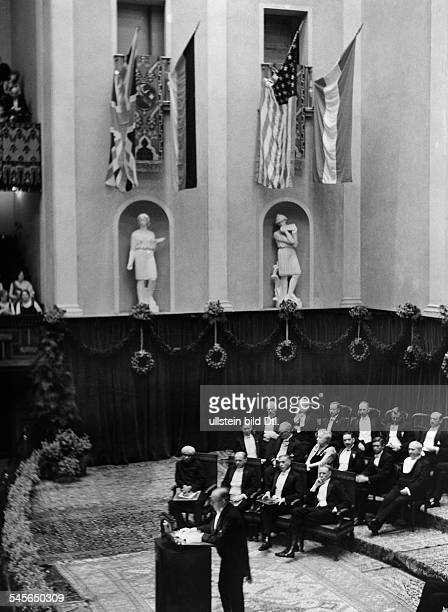 Chandrasekhara V Raman*07111888Physicist IndiaNobel Prize in Physics 1930Award of the Nobel Prizes in the Konzerthuus in Stockholm first row from...