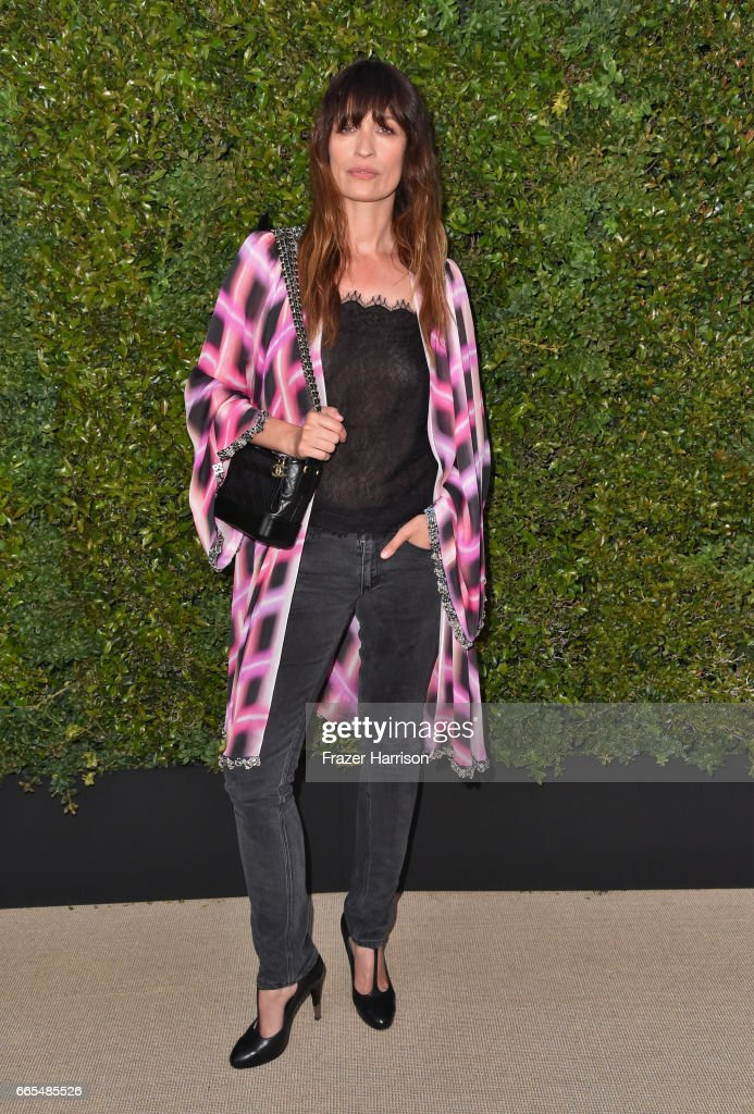 Caroline De Maigret And Pharrell Williams Host A Dinner In Celebration Of Chanel's Gabrielle Bag