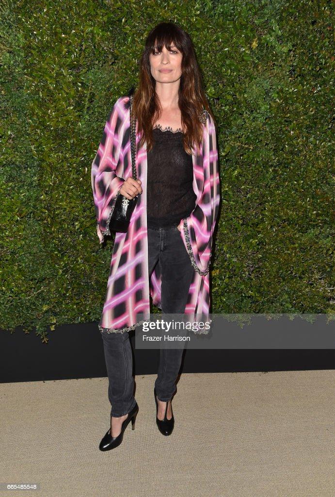 Chanel Ambassador Caroline de Maigret attends the celebration of Chanel's Gabrielle Bag hosted by Caroline De Maigret and Pharrell Williams at Giorgio Baldi on April 6, 2017 in Santa Monica, California.