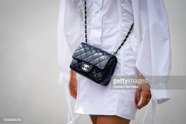 Chanel bag is seen during Feeric Fashion Week 2018 on July 20 2018 in Sibiu Romania