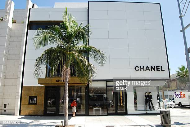 chanel - beverley hills. - beverly hills california stock pictures, royalty-free photos & images