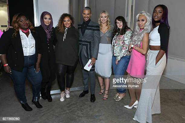 Chanel Boateng Amena Gracie F Victory Jay Manuel Iskra Lawrence Naomi Pike Marc Zapanta and Justine Skye attend Beautycon Festival London 2016 at...