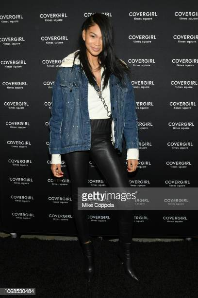 Chanel Iman attends as COVERGIRL Opens The Doors To Their First Flagship Store An Experiential Makeup Playground on December 4 2018 in New York City