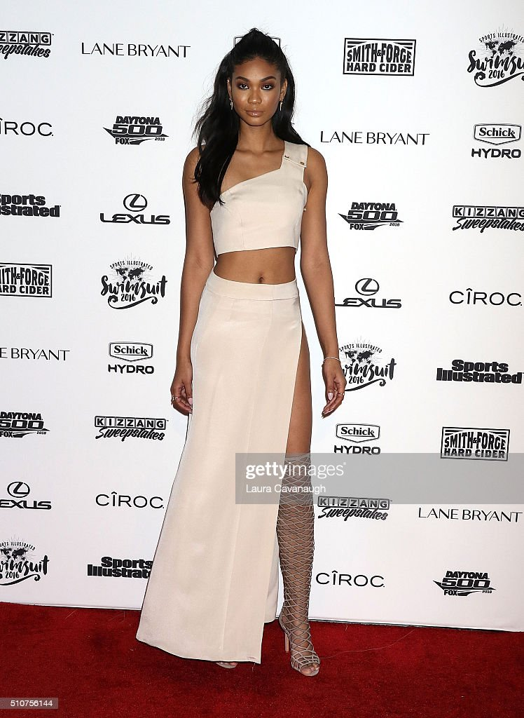 Chanel Iman attends Sports Illustrated Celebrates Swimsuit 2016 at Brookfield Place on February 16, 2016 in New York City.