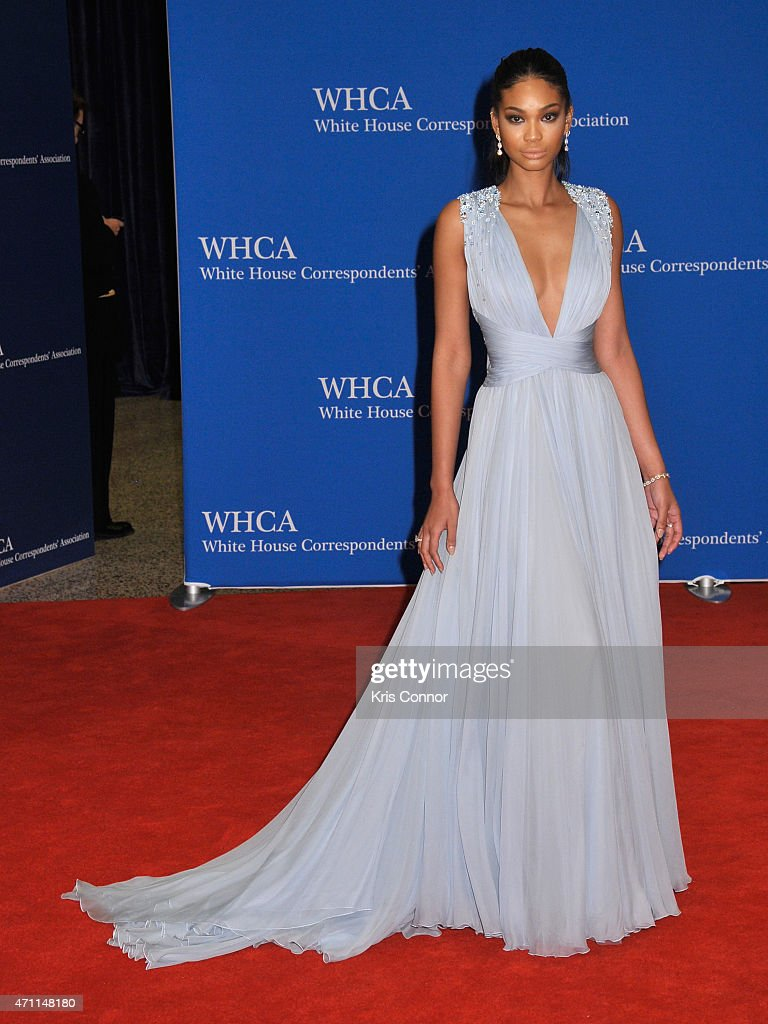 Chanel Iman attends the 101st Annual White House Correspondents' Association Dinner at the Washington Hilton on April 25, 2015 in Washington, DC.