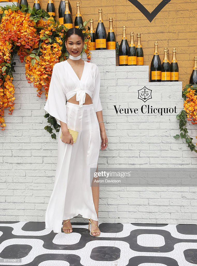 Chanel Iman attends Veuve Clicquot Hosts Second-Annual Clicquot Carnaval in Miami at Museum Park on February 20, 2016 in Miami, Florida.