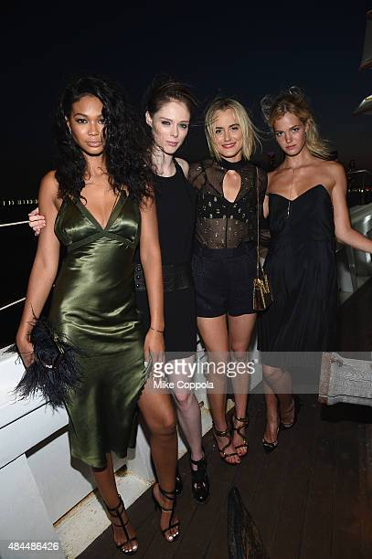 Chanel Iman Coco Rocha Taylor Schilling and Erin Heatherton attend All Aboard as W Hotels toasts the upcoming opening of W Amsterdam with 'Captains'...