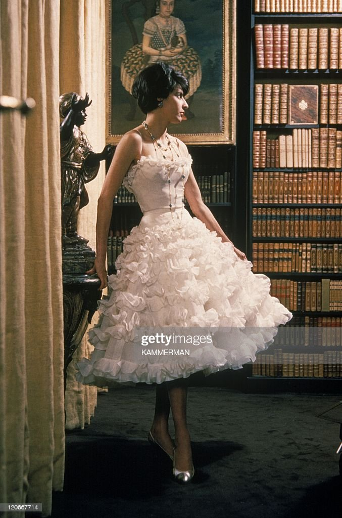 Chanel In Paris, France In 1960 - : News Photo
