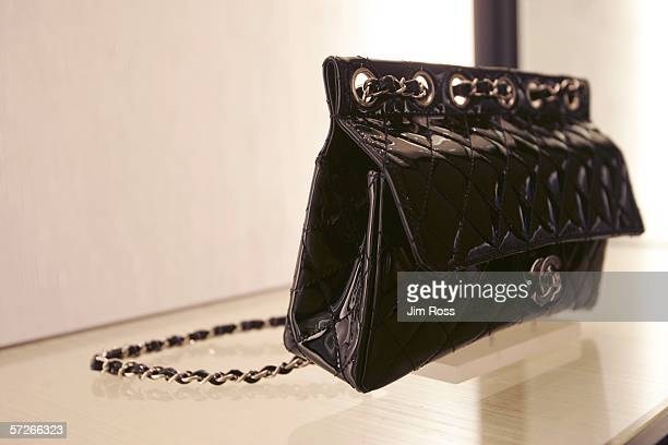 Chanel purse lies on display at the gala celebration of the new Chanel Boutique In Conjunction With Time Style And Design Magazine at the Holt...