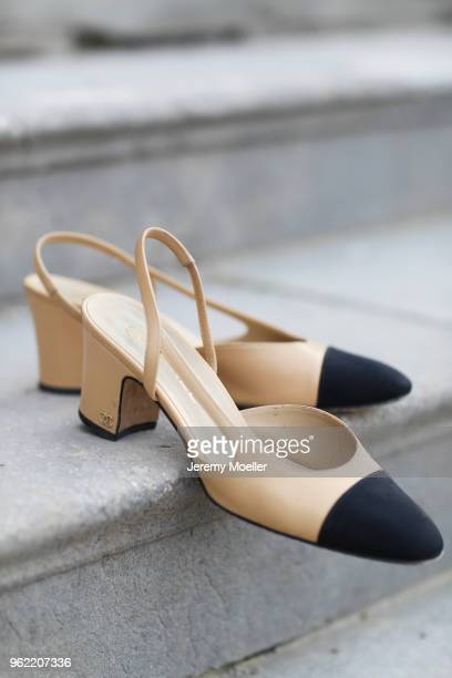 Chanel shoes on May 02 2018 in Munich Germany