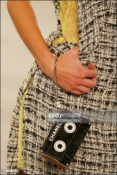 Chanel springsummer 2004 readytowear collection in Paris France on October 10 2003