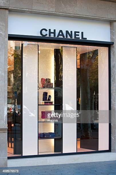 Chanel store window