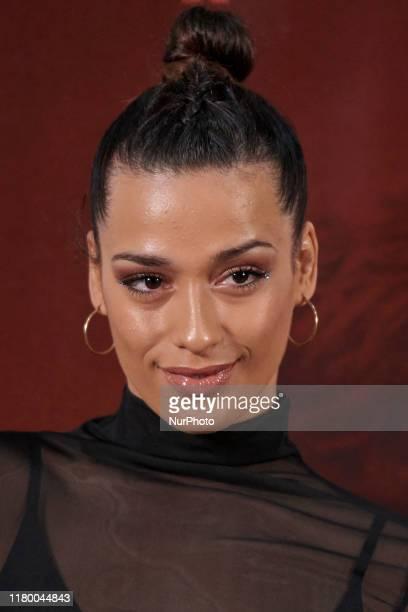 Chanel Terrero attends the 'El Hoyo ' movie premiere at 'Palacio de la prensa' cinema in Madrid, Spain on Nov 4, 2019
