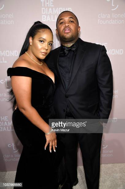 Chanel Thierry and DJ Mustard attend Rihanna's 4th Annual Diamond Ball benefitting The Clara Lionel Foundation at Cipriani Wall Street on September...
