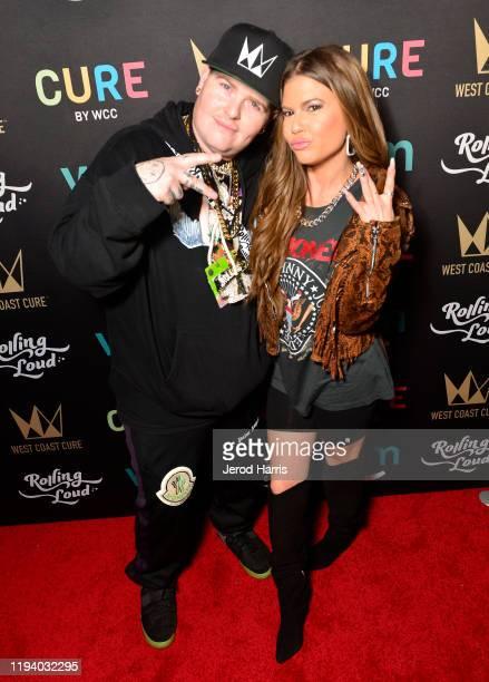Chanel West Coast and Jerett Wasserman attend Rolling Loud Fueled by West Coast Cure Los Angeles 2019 Day 1 on December 14 2019 in Los Angeles...