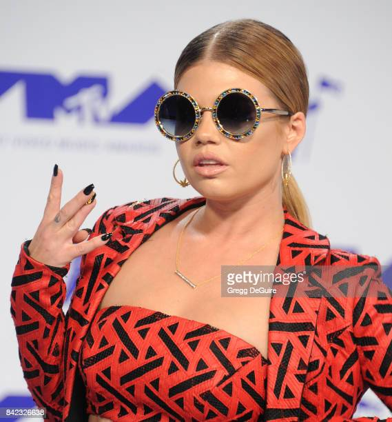 Chanel West Coast arrives at the 2017 MTV Video Music Awards at The Forum on August 27 2017 in Inglewood California