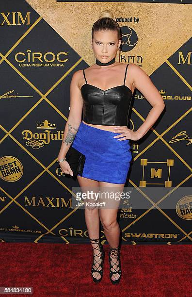 Chanel West Coast arrives at the Maxim Hot 100 Party at the Hollywood Palladium on July 30 2016 in Los Angeles California